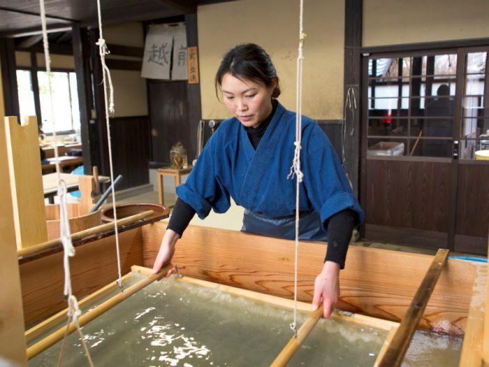 伝統工芸士が直接伝授!越前和紙と越前箪笥の技と心、産地の息吹に触れる旅